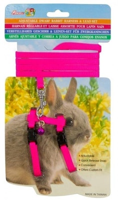 Percell Dw Rab Harn/Lead Pink