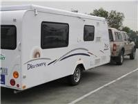 Jayco Discovery 16.52 is easy towing
