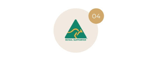 We are accredited with the Australian Made Campaign.