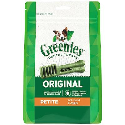 Greenies Original Petite Dogs Dental Treats 7-11kg - 3 Sizes