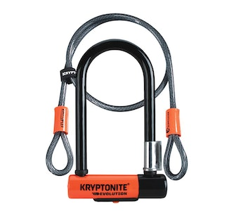 Kryptonite Evolution New Mini-7 Bike Lock with Flex Cable