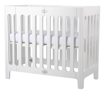 Alma Mini Crib Coconut White (excluding mattress) (PRE ORDER NOW FOR DELIVERY END SEPTEMBER)