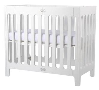 Alma Mini Crib Coconut White FRAME ONLY