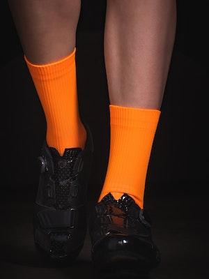 TIC CC Parcours socks – Neon orange