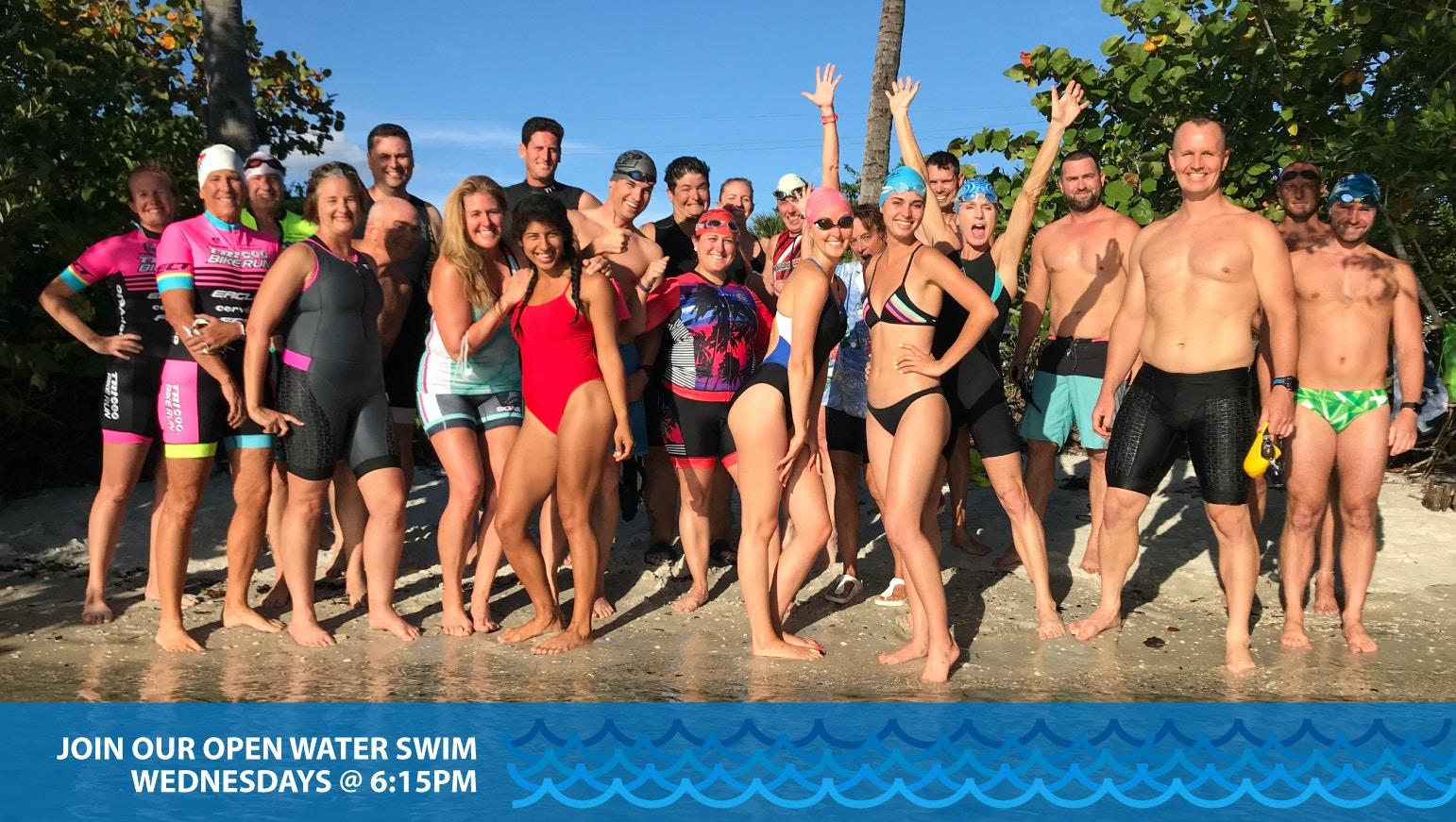 Tri Bike Run Weekly Open Water Swim Group
