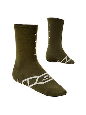 Pedla Lightweight / Olive Sock