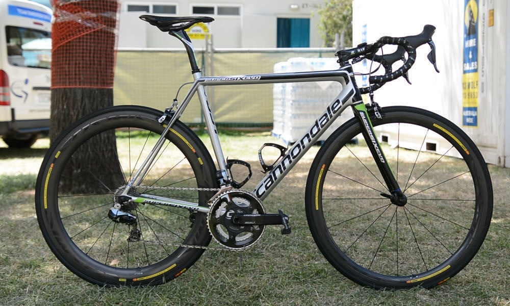 fullpage Cannondale Racing Cannondale SupersixEVO 2016
