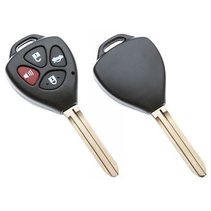 Silca Toyota Triangle 4 Button Replacement Key Shell