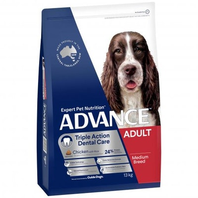 Advance Dental Care Adult Dry Dog Food 13kg