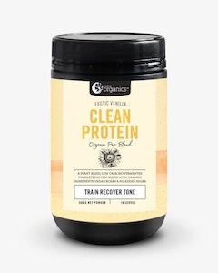 Nutra Organics Clean Protein Exotic Vanilla 500g