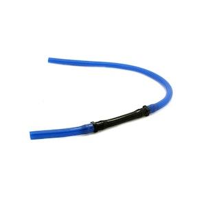PVC Uni Flow Breather Hose - Blue