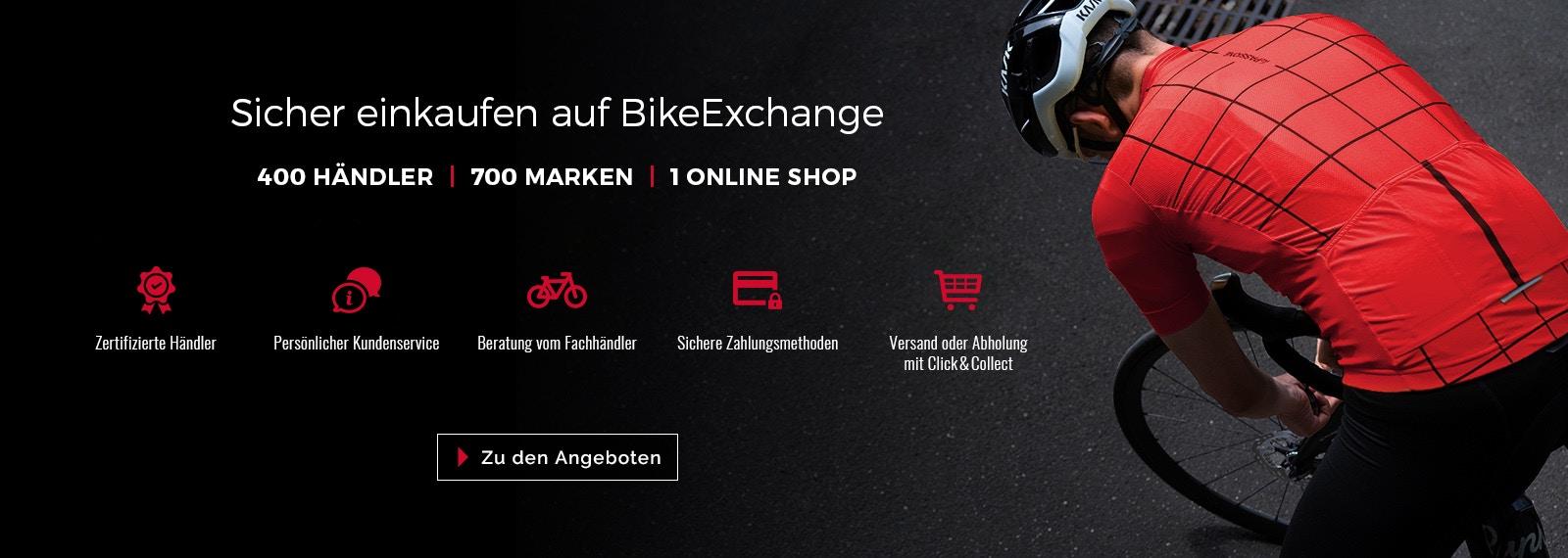 fahrrad online shop ber 700 marken auf bikeexchange. Black Bedroom Furniture Sets. Home Design Ideas