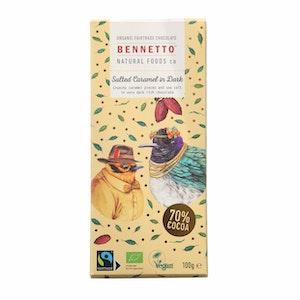 Benetto Salted Caramel in Dark - 100g