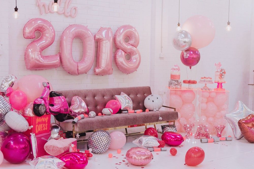 PINK NEW YEARS EVE PARTY INSPIRATION