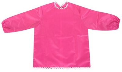 Silly Billyz Medium Pink Long Sleeve Painting Apron