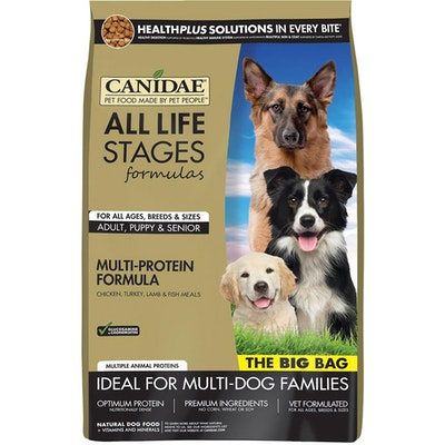 Canidae All Life Stages Chicken Turkey Lamb Fish Dog Food 20kg