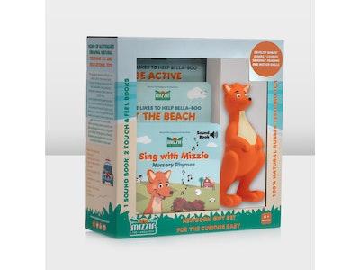 Mizzie the Kangaroo Newborn Gift Set for the Curious Baby