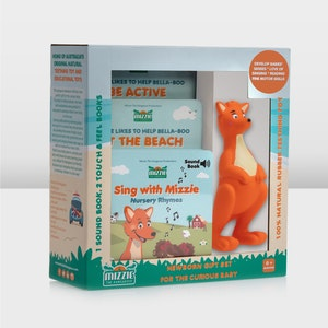 Mizzie the Kangaroo Newborn Gift Set for the Curious Baby