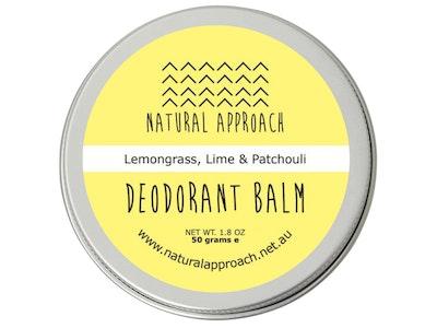 Natural Approach 50g - Lemongrass, Lime & Patchouli - Natural Deodorant