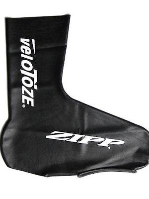 VeloToze Tall Shoe Cover - Zipp Logo - Black