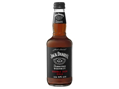 Jack Daniel's Double Jack & Cola Bottle 330mL