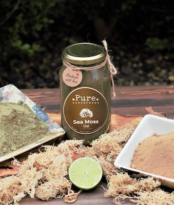 Pure Superfoods Bladderwrack and Burdock Sea Moss Gel
