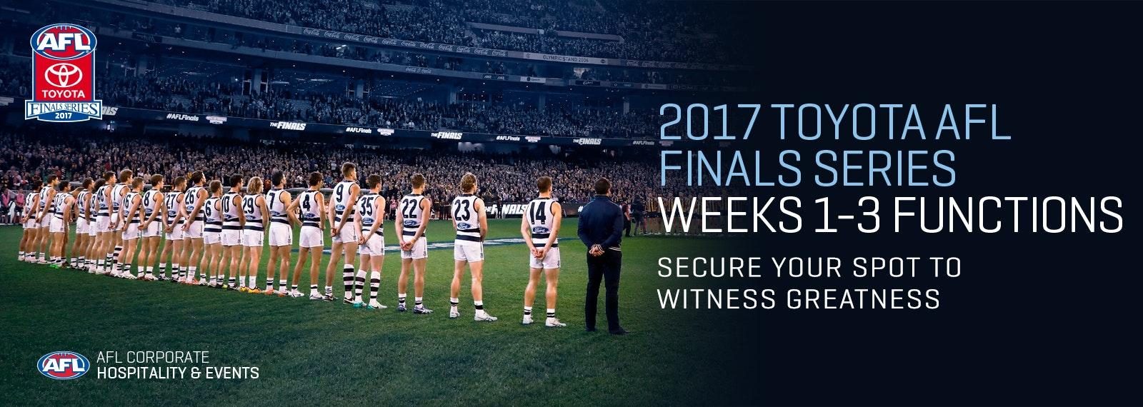 2017 AFL Finals Series