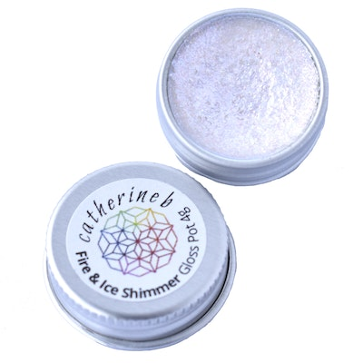 Catherine B Fire and Ice Shimmer Gloss Pot