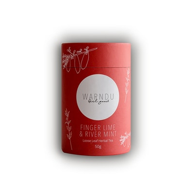 Warndu Pty Ltd Finger Lime & Native Mint Tea