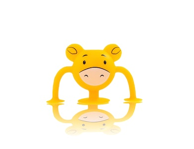 Silicone Suction Baby Bath Toys 1pk - Charlie Cow - Zoo Collection