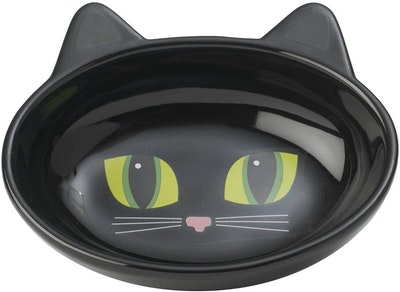 Petrageous Frisky Kitty Ceramic Cat Bowl Oval - 2 Colours