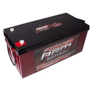 220AH AGM 12V Deep Cycle Battery huge battery storage for camping, caravans, 4WD, 4X4 generators solar systems