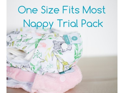 One Size Fits Most Nappy Trial Pack - Bare Essentials & Tutto
