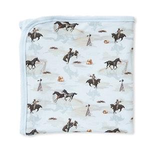 Milky - Cowboy Wrap - Powder Blue