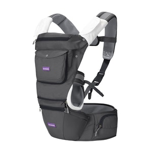 ClevaMama Hip Healthy Baby Carrier - Grey