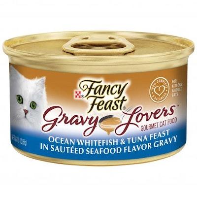 Fancy Feast Gravy Lovers Ocean Whitefish & Tuna Feast 85g