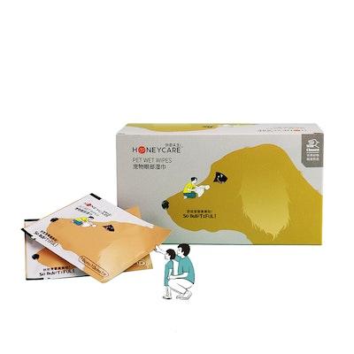 Honeycare Pet Wipes For Eyes (30pcs)
