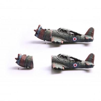 Aqua One AO Magnetic Ornament Wrecked Bomber