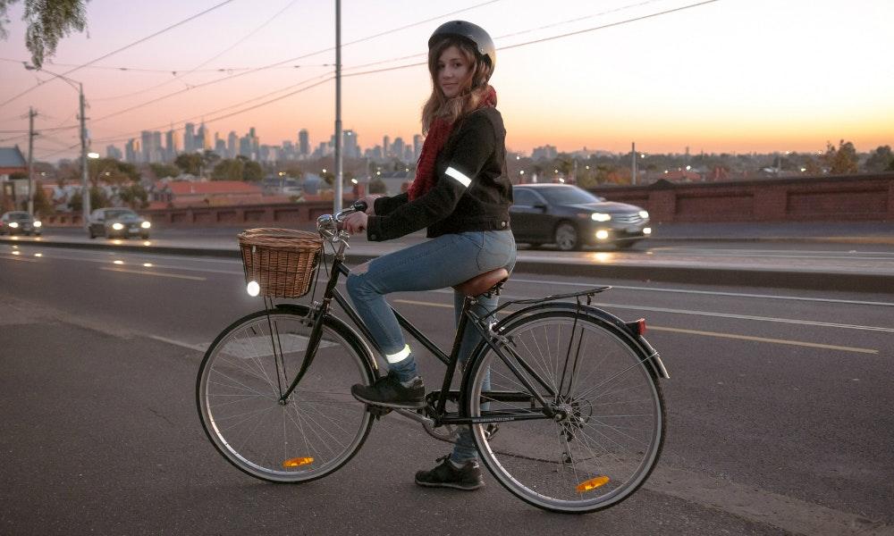 Bike Light Reflectors And Wrap Bands