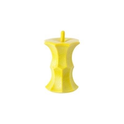 Pidan Dog Toy - Apple Core - Yellow