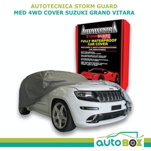 4WD Car Cover Stormguard Waterproof Medium 4.5M for Hyundai IX35 Mitsubishi ASX