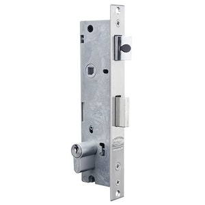 Lockwood Optimum Hinged Door Mortice Lock 30mm Backset 2 Point with Cylinder OP302PTLSS