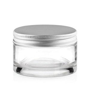 Glass Dappen Dish Bowl 15mL + Aluminium Lid Manicure Acrylic Nail Salon