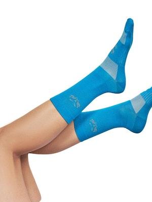 Taba Fashion Sportswear Media Ciclismo Edicion Especial Soft Azul Royal Turqueza