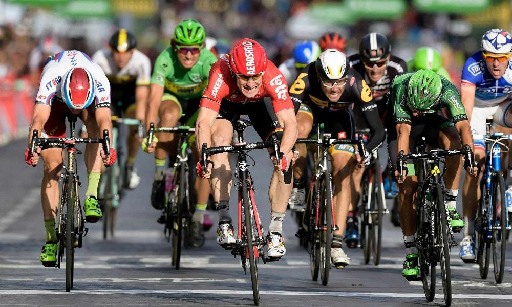 Andre Greipel Stage 21 win