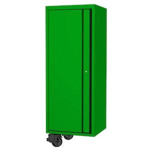 "Side Cabinet 4 Roller Shelves 1 Fixed Shelves 27"" USA Sumo Series GREEN/BLACK SP44880G"