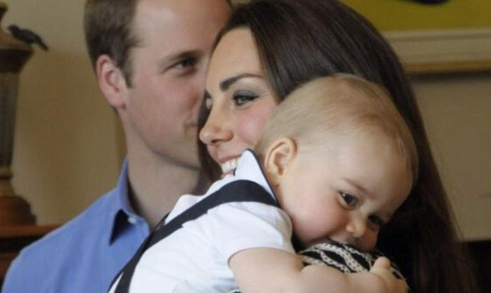 Prince George delights in New Zealand!