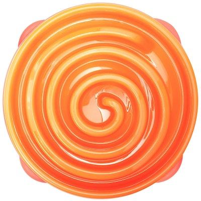 OUTWARD HOUND Fun Feeder Regular / Orange