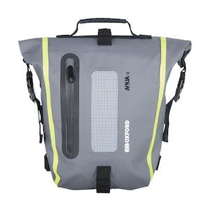 Oxford Aqua T8 Tail Pack - Black/Grey/Fluro