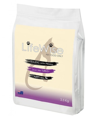 LifeWise Puppy Small Dry Dog Food Turkey w/ Lamb & Vegetables - 3 Sizes